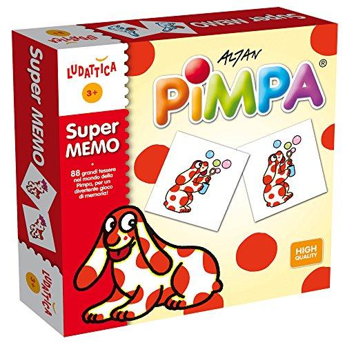 Ludattica 47253 - Pimpa Supermemo