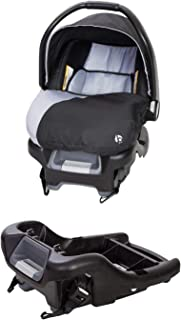 Baby Trend Ally Adjustable 35 Pound Infant Baby Car Seat and Ally 35 Versatile Ultra Safe 4 Position Infant Car Seat Base,...