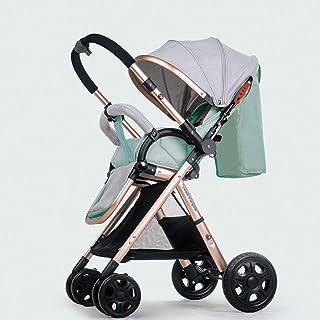 Sopstol med vändbart styre, ultralätt resa buggy bärbar barnvagn -f