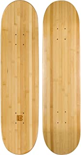 Bamboo Skateboards Blank Skateboard Deck - POP - Strength - Sustainability