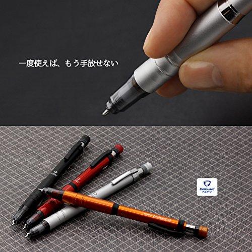 『ゼブラ シャープペン デルガード タイプLx 0.5 限定色 メタリックレッド A-MA86-Z-MTR』の6枚目の画像