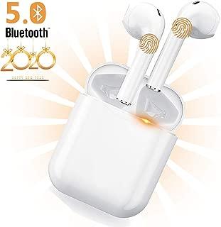 【2020最新版 最新型 Bluetooth 5.0+EDR搭載 IPX7】高音質 Bluetooth イヤホン 30時間再生 Type C 充電 完全ワイヤレスイヤホン Bluetooth 5.0 チップセット搭載 TWS Plus ワイヤードイヤホン 自動ペアリング 両耳/片耳対応 小型 防水 スポーツイヤホン サウンドピーツ フルワイヤレス イヤホン Apple/Airpods pro対応
