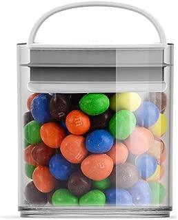 Prepara 3039-fr evak Low Plastic Storage Box Clear White 10.3x 9.6x 9.6cm