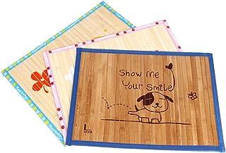 ふく福 ペットクールマット犬 猫 竹冷却涼感マット 夏用 熱中症 暑さ対策 ぐっすり眠る 中小型犬/猫用 ベッドマッ 室内用 通気性抜群1個,色ランダム) (M(50*37.5cm))