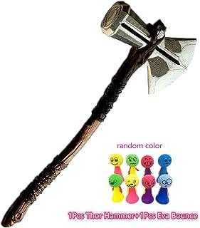 Lonme Martillo de Hacha de Thor Cosplay Prop 72cm Thor's