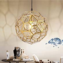 Chandeliers Magical Lights Single Head Diamond Ball Simple Restaurant Stainless Steel Small Chandelier D50CM Chandeliers M...