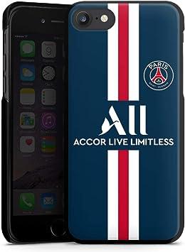 DeinDesign Coque Compatible avec Apple iPhone 7 Étui Housse Paris Saint-Germain Produit sous Licence Officielle PSG