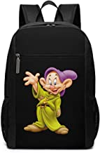 Mochila Mochila de Viaje Snow White and The Seven Dwarfs Characters Backpack Laptop Backpack School Bag Travel Backpack 17 Inch