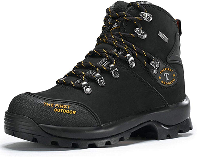 Hiking shoes Man Mountain 2018 Winter Climbing Tactical Fishing Waterproof Boots