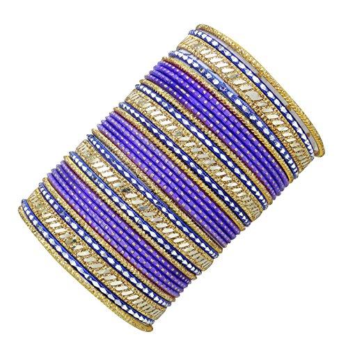 Banithani Armreif Indischen Ethnischen Traditionellen Armband Schmuck Gif Für Frauen 2 * 8 Eingestellt