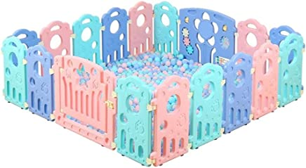 Baby playpen-SYY Fence For Toddlers Children Kids Private Amusement Park Material Safety Easy Install Sizes Choose  Size 155 192cm