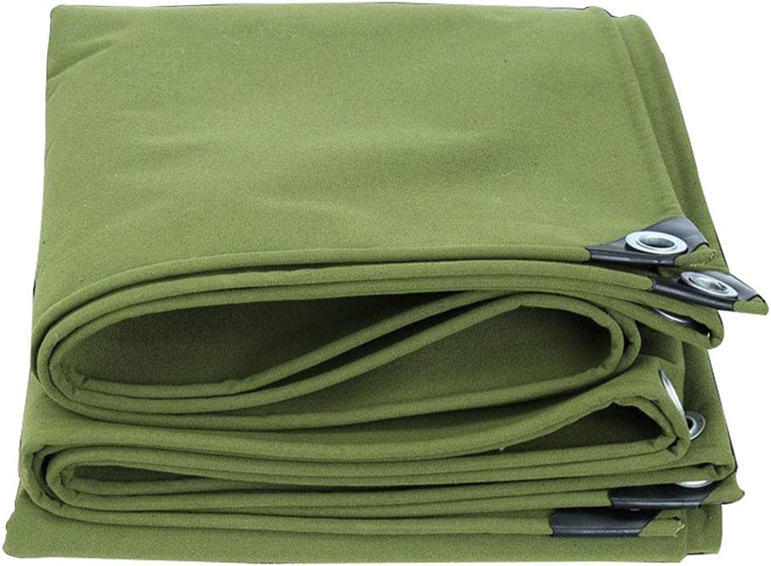 Truck Transport Tarpaulin   Indoor and Outdoor Predective Cover   Sunscreen Shade Cloth  Green   Weight  600g   Square Meter