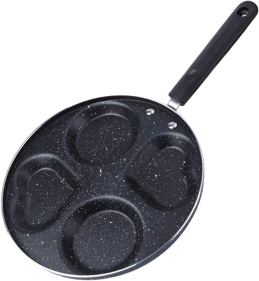 Hyuduo Non-Stick Pancake Maker 4 Familie quality assurance Sale SALE% OFF Holes for Flapjack Pan