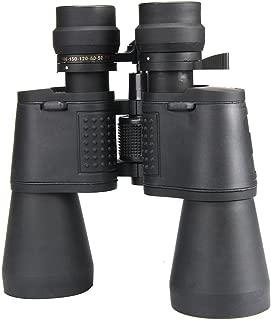 ANR 双眼鏡 100倍 望遠鏡 10-180×100 50口径 ブラック アウトドア 青色レンズ 集光率 フェス コンサート ハンティング バードウオッチング
