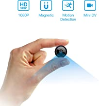 $32 » Spy Camera Wireless Hidden WiFi Camera HD 1080P Mini Camera Portable Home Security Cameras Covert Nanny Cam Small Indoor Video Recorder Motion Activated/Night Vision Remote Monitor Phone App
