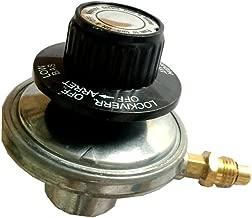 MeTer Star LPG 1 lb Adjustable Propane Gas Regulator Knob Pressure Relief Valve M121 Nozzle 1.0 mm