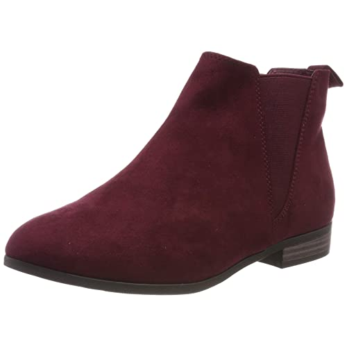 ae4b2eb243ca2 Burgundy Boots: Amazon.co.uk