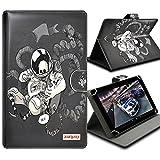 Seluxion Universal M Flip und Halterung, Motiv Zigaretten für Bordsteckdose Tablet Lenovo Tab2A8–50, Tab S8, Yoga Tab 2und 38.0