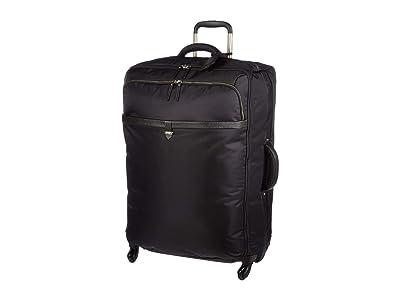 Lipault Paris Spinner 72/26 Packing Case (Jet Black/Light Gold) Bags