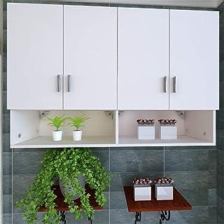 Bathroom Cuisine Armoire Stockage Organiser le montage mural Armoire de rangement Utilitaire Étagère de rangement idéale p...