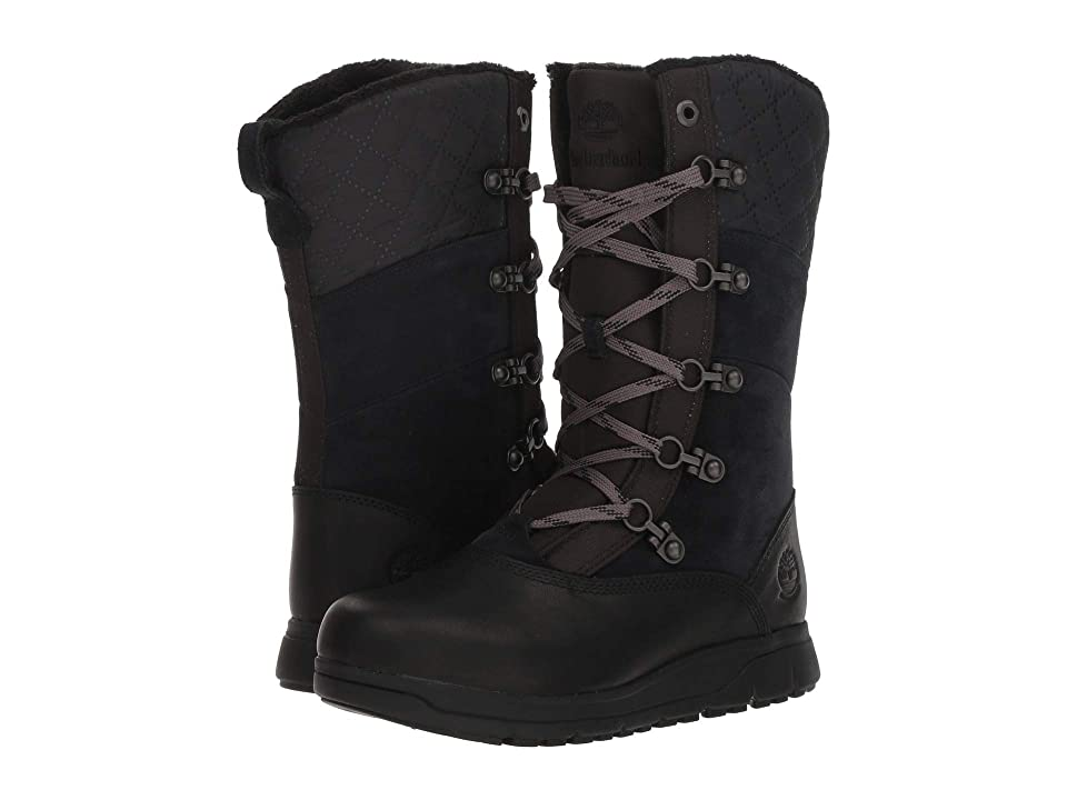 Timberland Haven Point Waterproof (Black Full Grain) Women