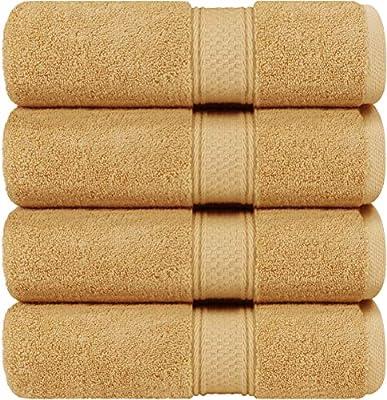 Utopia Towels Luxury White Bath Towels, 27x54 Inch, 700 GSM Hotel Towels