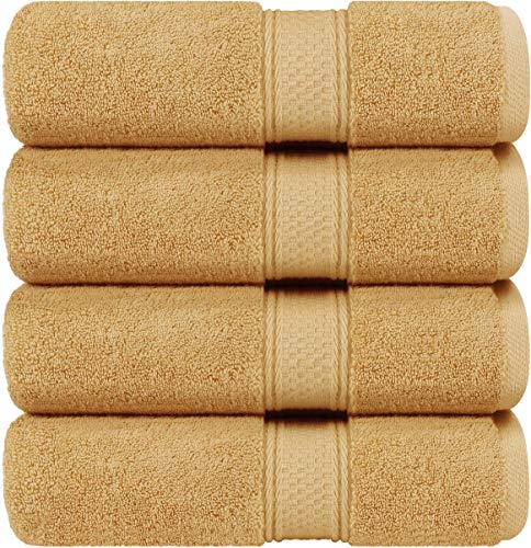 Utopia Towels Luxury White Bath Towels, 27x54 Inch, 700 GSM Hotel Towels (Beige)