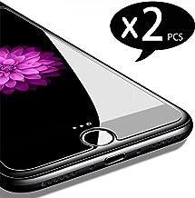 NEW'C Pellicola Protettiva in Vetro Temperato per iPhone 7, iPhone 8 - Pacco da 2 Pezzi