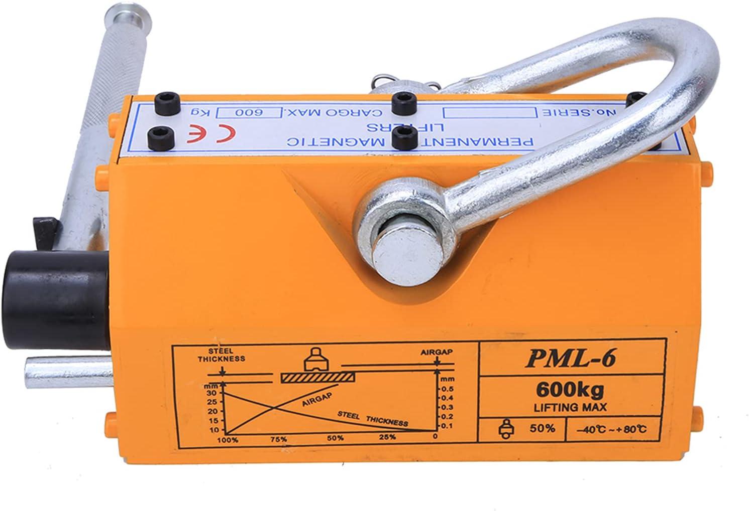 Hoist Lifting Magnet, Safety Permanent Magnet Strong Force Steel