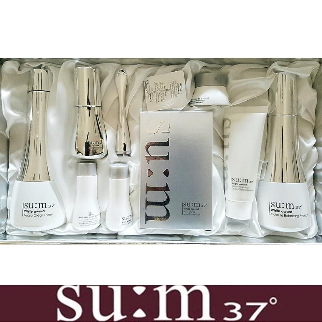 証明書ウィンク滅多[su:m37/スム37°] SUM37 White Awards 3EA Special Set/ホワイトアワード 3種 スペシャルセット+[Sample Gift](海外直送品)