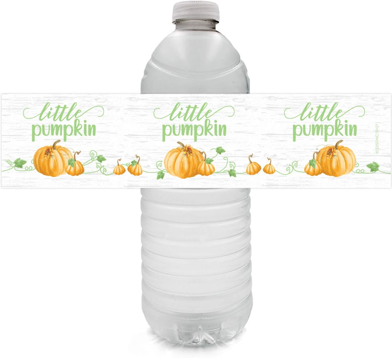 Little Pumpkin Baby Shower Water At the price 24 Bottle Manufacturer OFFicial shop Labels Stickers -