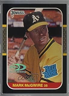 Mark McGwire #33/87 (Baseball Card) 2001 Donruss - Rookie Reprints - Holofoil #RR14