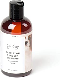 Eye Envy Tear Stain Remover Solution for Dogs|100%...