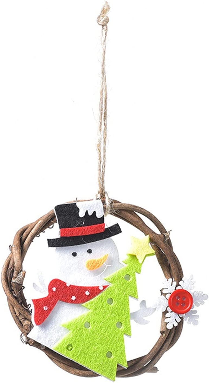 2021 Soldering Christmas Ornaments Mini Wreath Denver Mall Hanging Decor Xm