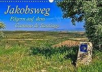 Jakobsweg - pilgern auf dem Camino de Santiago (Wandkalender 2022 DIN A3 quer): Der Jakobsweg - endlos lang und beschwerlich, aber auch ein Weg der Kraft und Zuversicht. (Monatskalender, 14 Seiten )