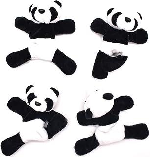 Liwein 4 Pièce Aimant de réfrigérateur Panda,Mignon Doux en Peluche Panda 3D réfrigérateur Autocollant Beau Souvenir Enfan...