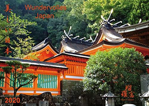 Wandkalender 2020 - Kalender Wundervolles Japan (Utsukushii Nihon) groß