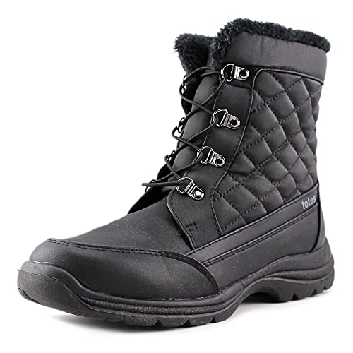 a6d45cd5a5e Totes Womens Troy Closed Toe Ankle Cold Weather Boots