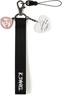 KAKAO FRIENDS Official- Apeach KangDaniel Edition Strap Keyring Keychain with Charms