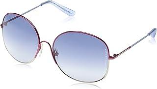 Marc Jacobs - Gafas de sol Aviador MMJ 194/S para mujer, Red White Frame/Gradient Grey