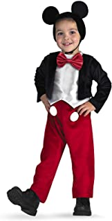 Disguise Deluxe Kids Disney Mickey Mouse Costume, size S (4-6)