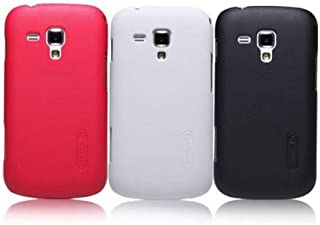 """Nillkin Super Frosted Shield Back Hard Case For Samsung Galaxy S Duos (S7562) 4.0"""" (2012) [Black Color]"""