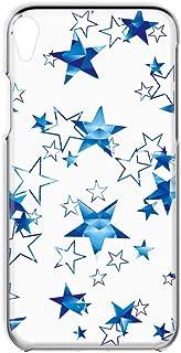 Xperia Z2 SO-03F 用 スマホケース ハードケース [星柄・ブルー] 3D風 流れ星 SONY ソニー エクスペリア ゼットツー docomo すまほカバー 携帯ケース 携帯カバー [FFANY] whitestar_00x_h1...
