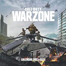 """Call of Duty Warzone Calendar 2021-2022: Warzone Mini wall calendar with 16 months """"8.5x8.5"""" Inches"""