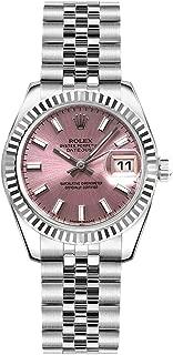 Women's Rolex Lady-Datejust 26 Pink Dial Steel Watch on Jubilee Bracelet (Ref: 179174)
