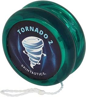 Spintastics Tornado 2 Professional Responsive Yoyo For Kids and Pros (green)