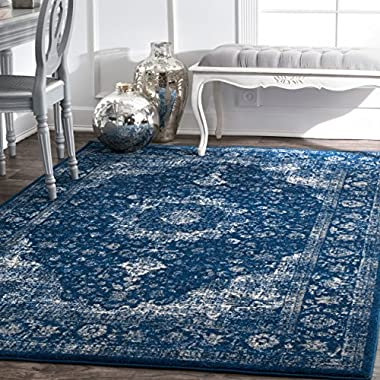 nuLOOM Traditional Persian Vintage Fancy Area Rug, 8' x 10'