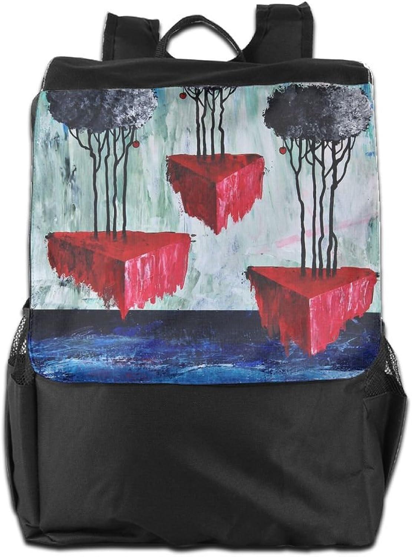 HSVCUY Personalized Outdoors Backpack,Travel Camping Camping Camping School-Abstract Oil Painting Adjustable Shoulder Strap Storage Dayback for damen and Men B07FYX5K63  Ein Gleichgewicht zwischen Zähigkeit und Härte d599a8