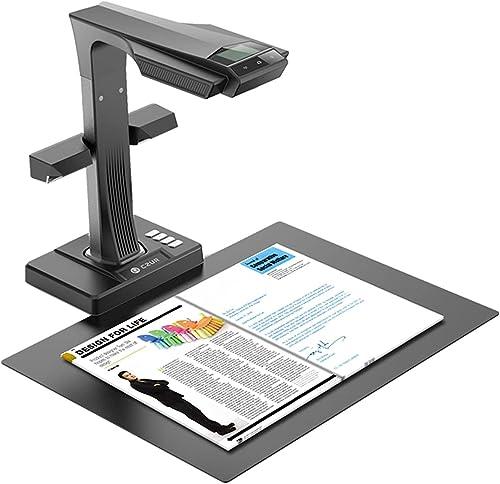 CZUR ET16 Plus Scanner pour livres et documents avec OCR intelligent pour Mac et pour Windows