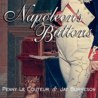 Napoleon's Buttons audiobook cover art